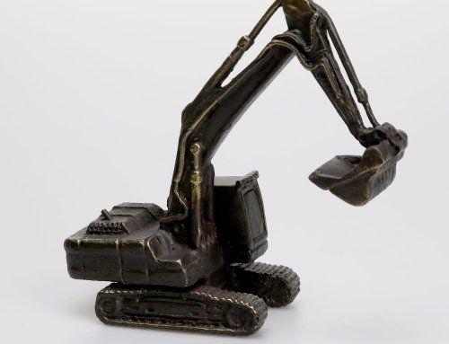 Sculptuur Graafmachine